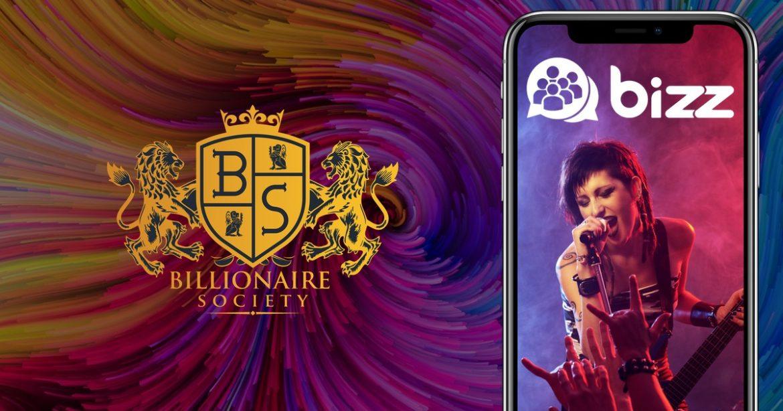 , Billionaire Society To Bring Celebrities to Bizz App