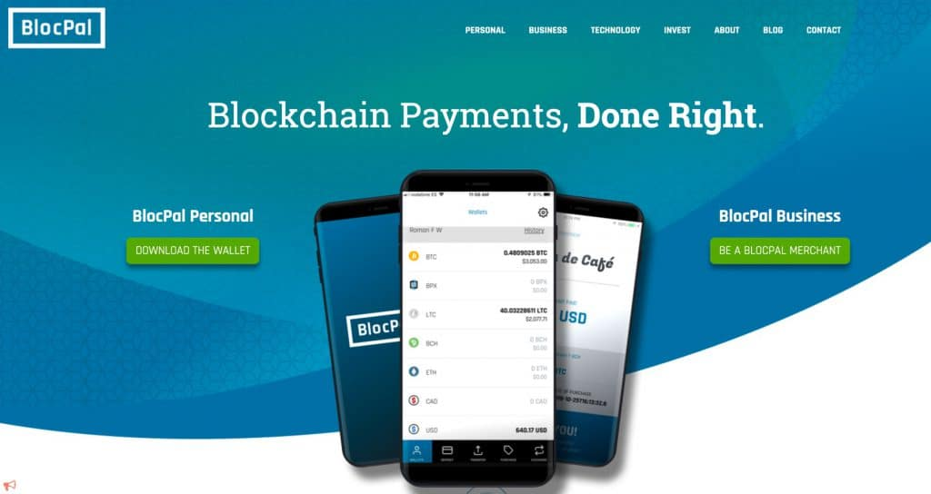 BLOCPAL PRESENTS NEW CORPORATE WEBSITE