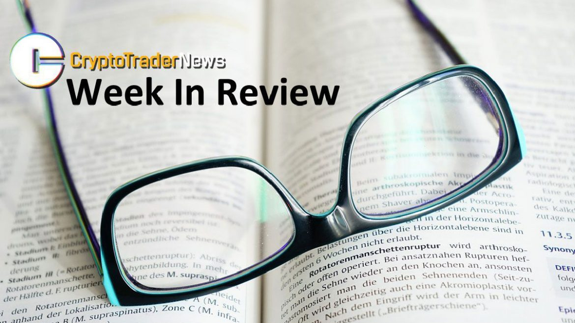 , Crypto Trader News Highlights: Week of September 22, 2019