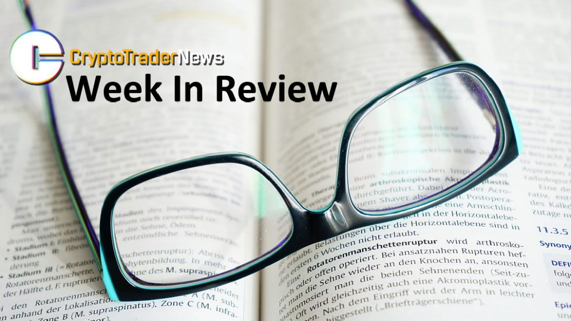 , Crypto Trader News Highlights: Week of December 1, 2019