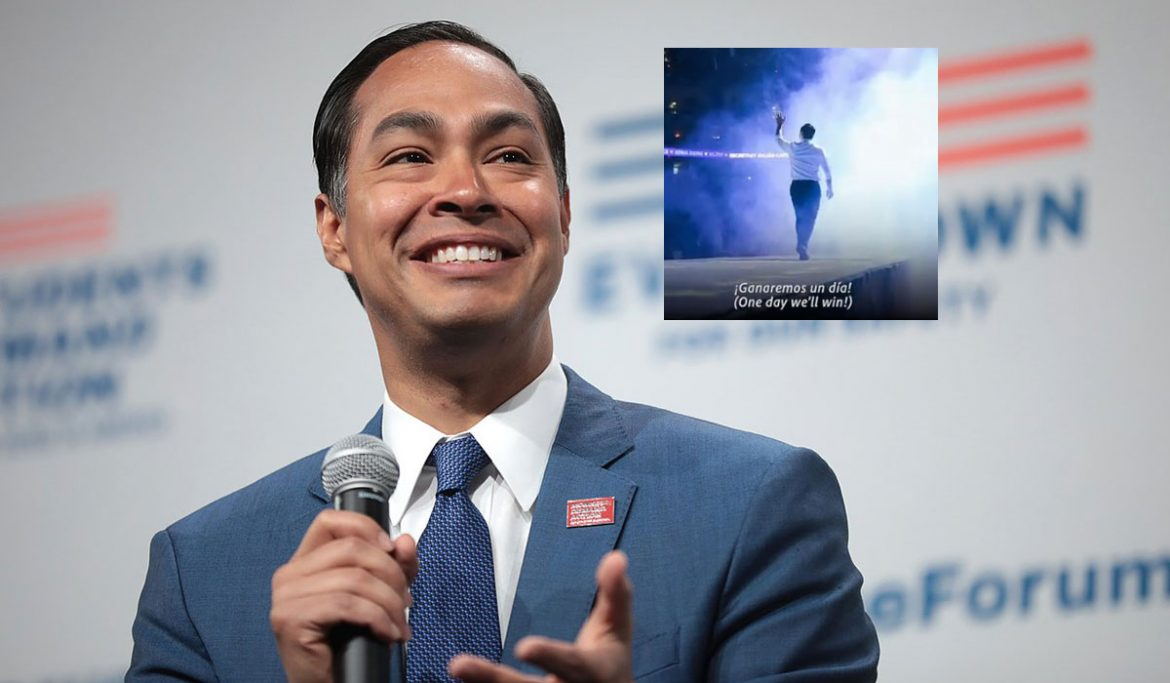 , Julián Castro Formally Ends His 2020 Presidential Race